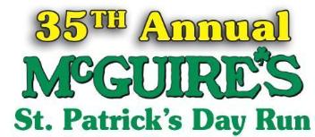 McGuire's St. Patrick's Day Run