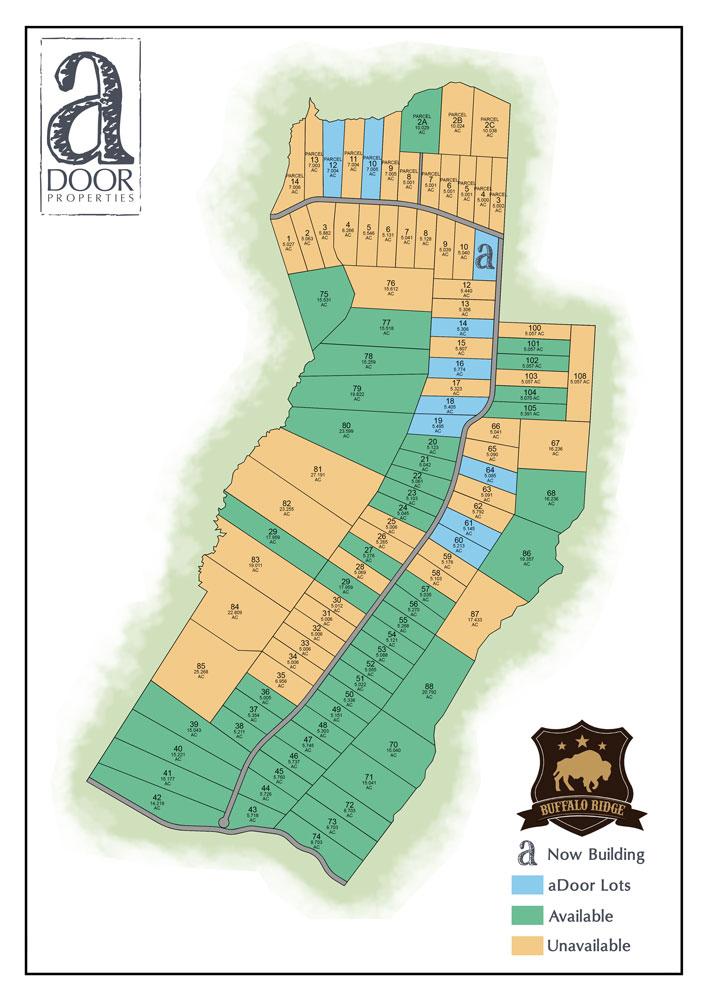 Buffalo Ridge site plan