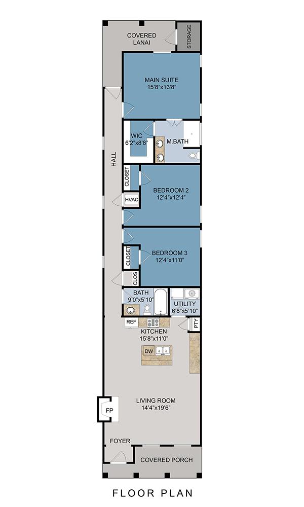 1210 W Gadsden St Floor Plan