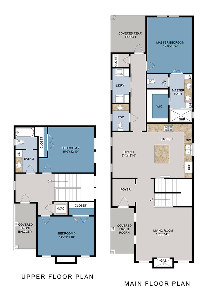 1202 W Zarragossa St. Floor Plan