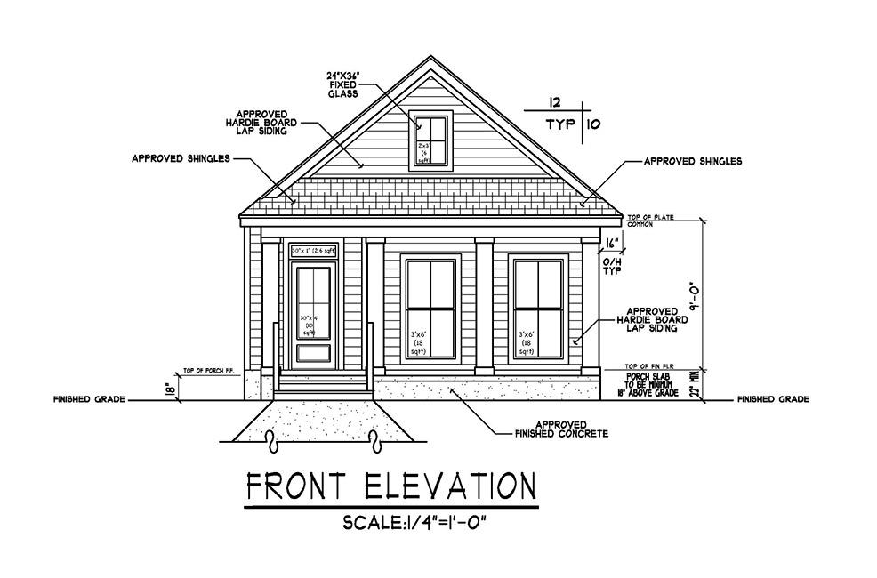 2102 West Gregory Floor Plan
